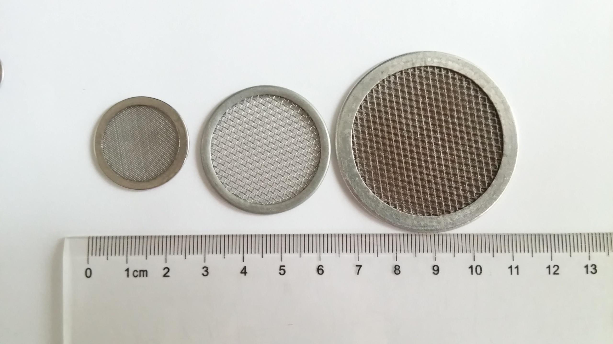 不锈钢包边滤网片